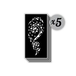 pochoir motif maori