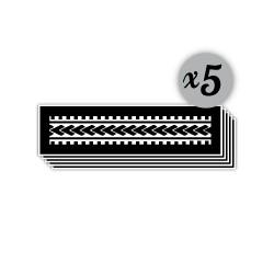 pochoir tour de bras fleche maori