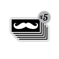 pochoir moustache