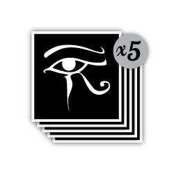 pochoir oeil horus