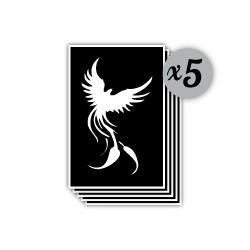 pochoir phoenix