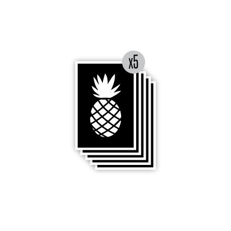 pochoir ananas