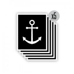 pochoir encre de marin