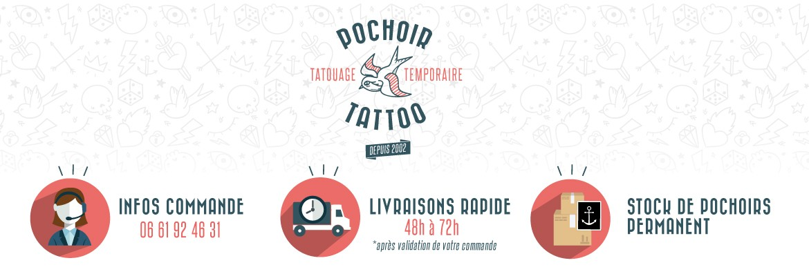 les engagements pochoir tattoo